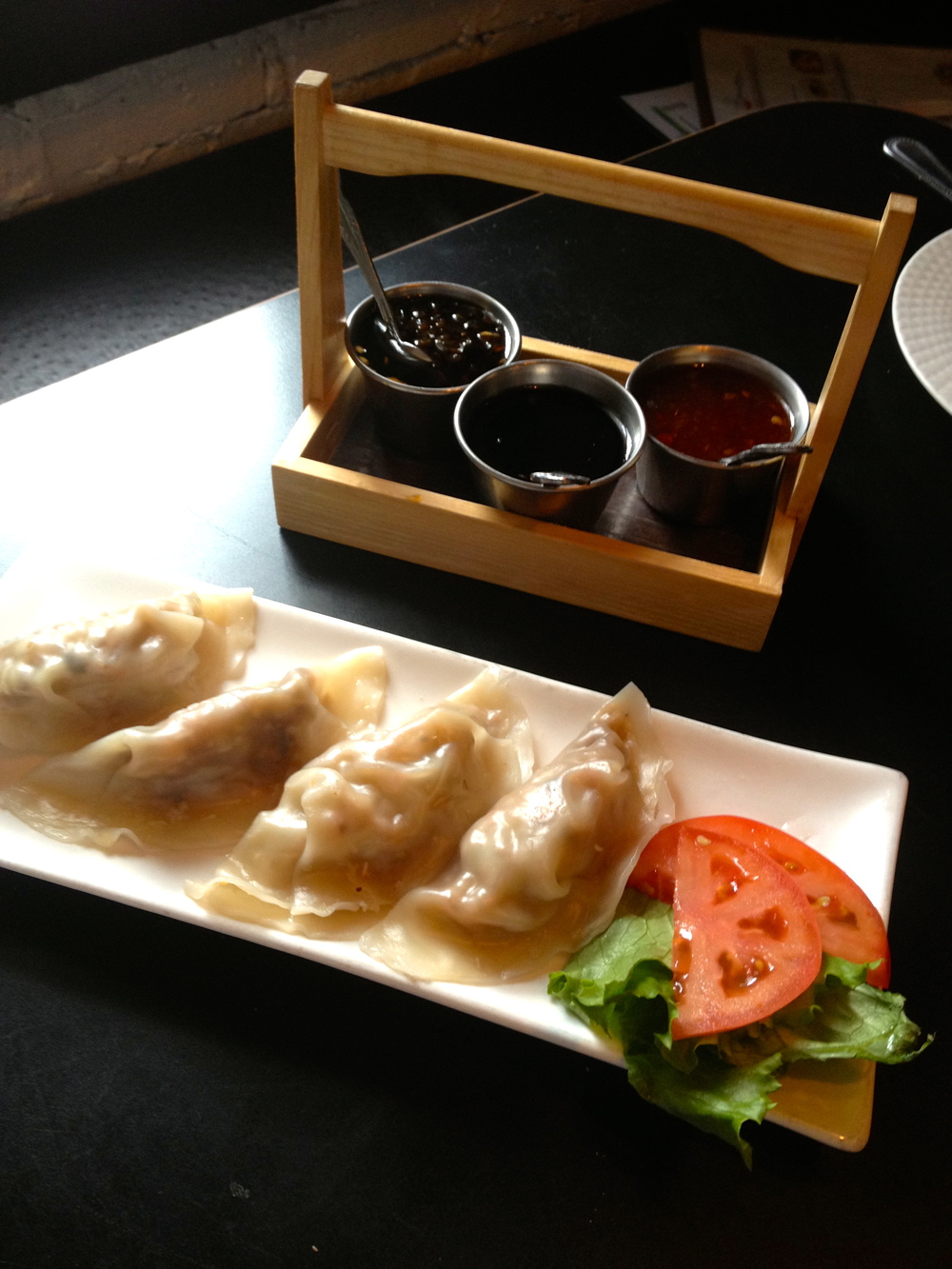 Peking Duck Dumplings