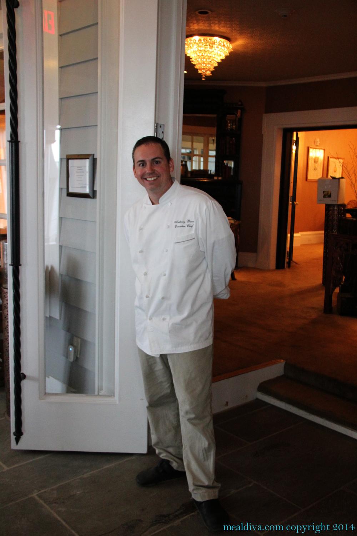 Chef Anthony Bucco Ryland Inn Whitehouse Station Nj