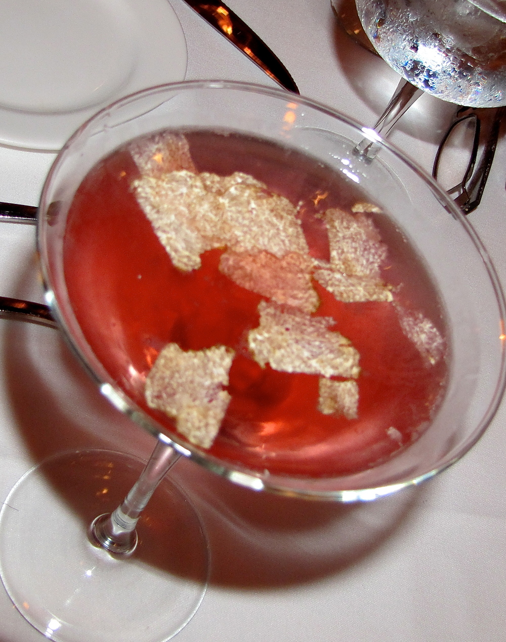 the truffle martini, $130
