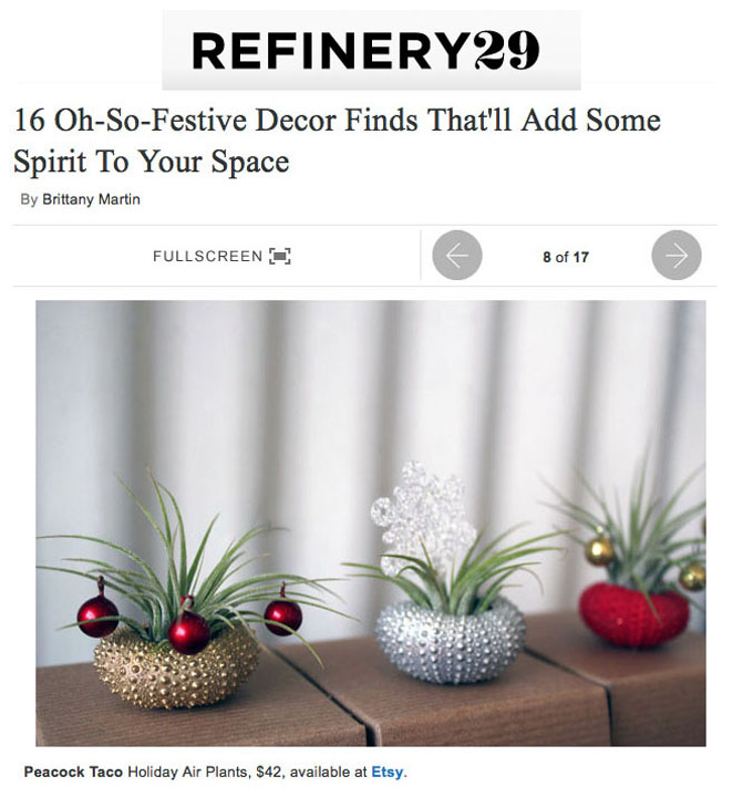 refinery29 - gift guide -december 2012