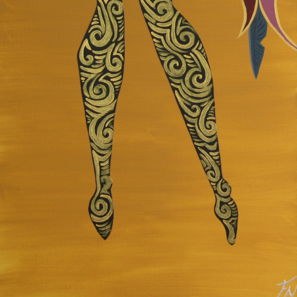 African Girl 3x 50x50cm Contact Feike for pricing info