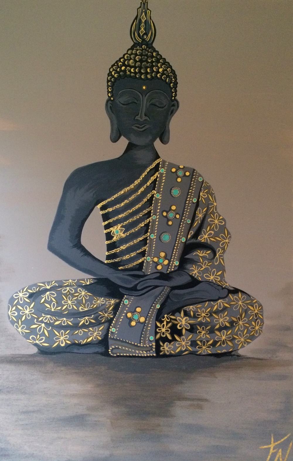 Thai Boeddha 120x80cm Contact Feike for pricing info