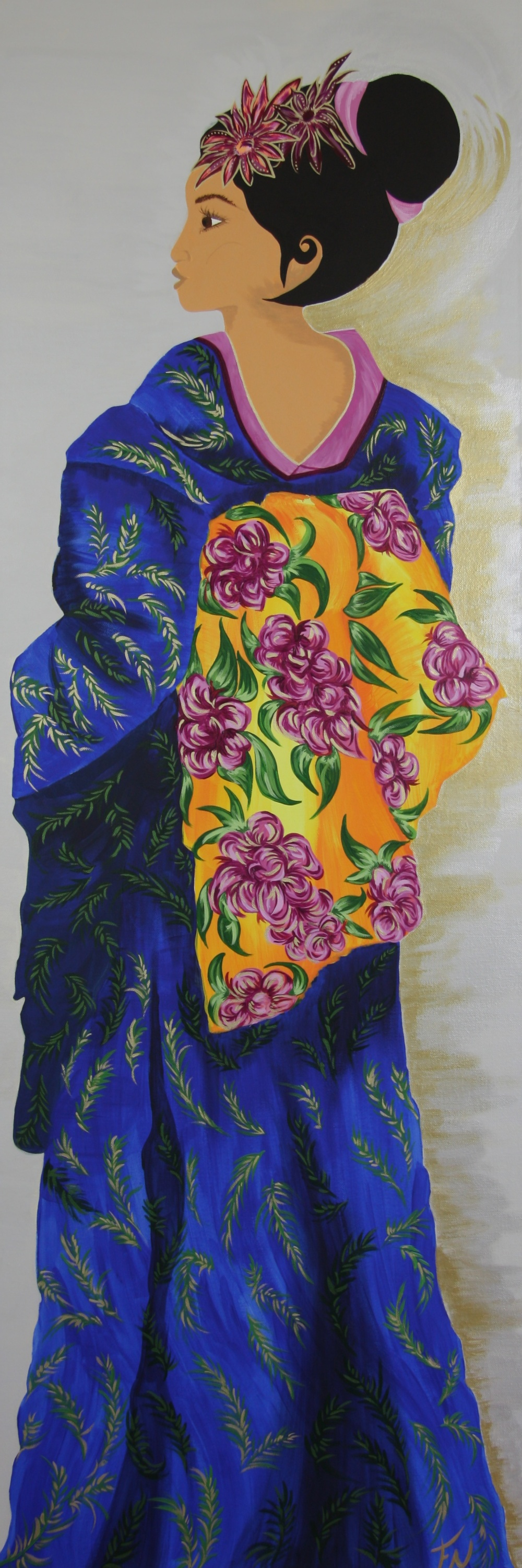 Chinese Girl 150x50cm Contact Feike for pricing info