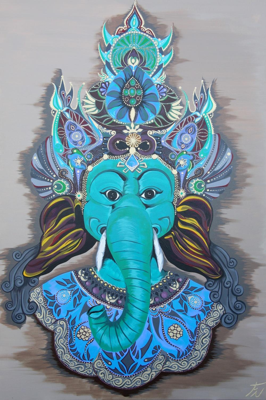 Hindu Boeddha Painting