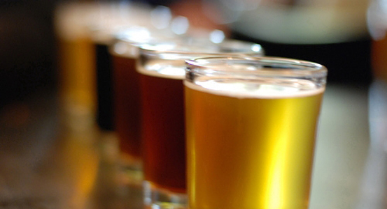 The North Bay Brew Tour takes passengers to 3 breweries in the San Francisco Bay area.