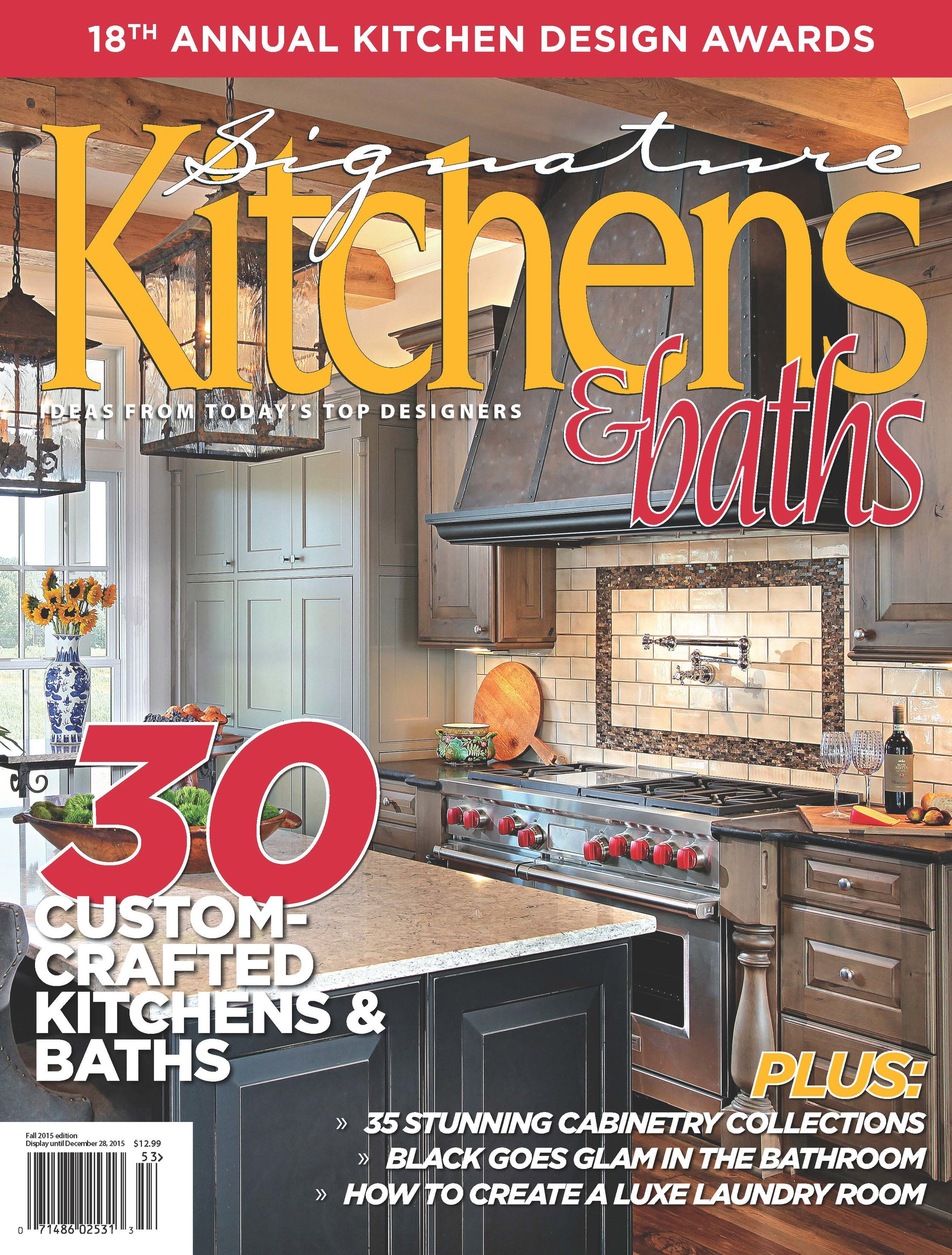 Splash Kitchens And Baths Awarded First Place In Traditional U0026 Second Place  In Contemporary Kitchens By