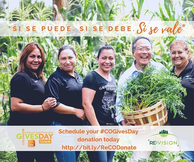 Yes we can. Yes we should. Yes it's worth it. Just over 7 hours left for #COGivesDay! Support us so that our mission can take root in Westwood, and we can build a thriving, resilient community that keeps Latino culture and community at the forefront of development. Donation link in profile.