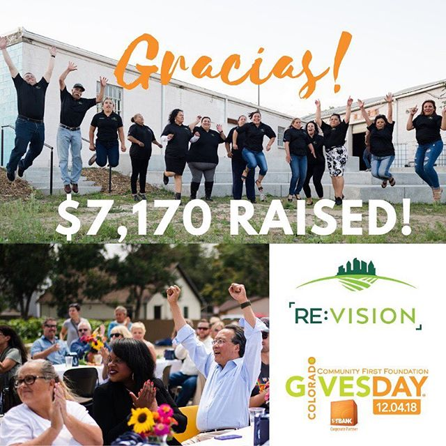 Thank you for your support! We raised $7,170, making this our biggest #COGivesDay yet!