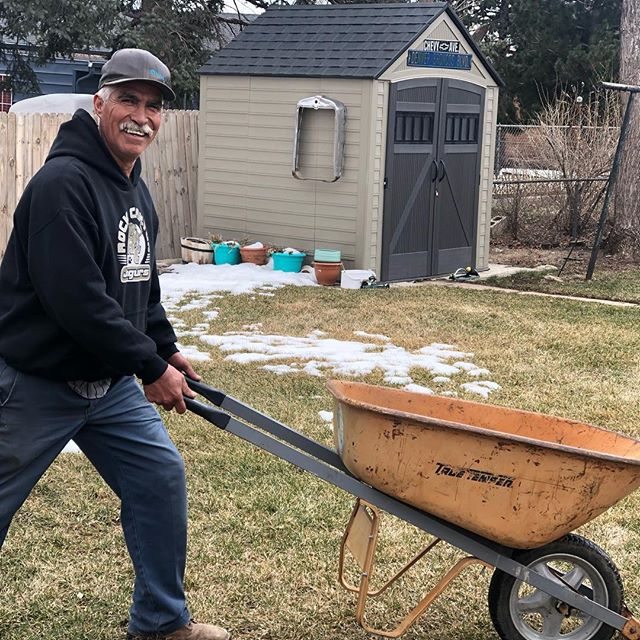 It's a beautiful day to deliver compost! Meet our Farm Manager, David de Santiago. If you live in zip codes 80219, 80204 or 80223 and have always wanted to grow your own food, email us at gardens@revision.coop!