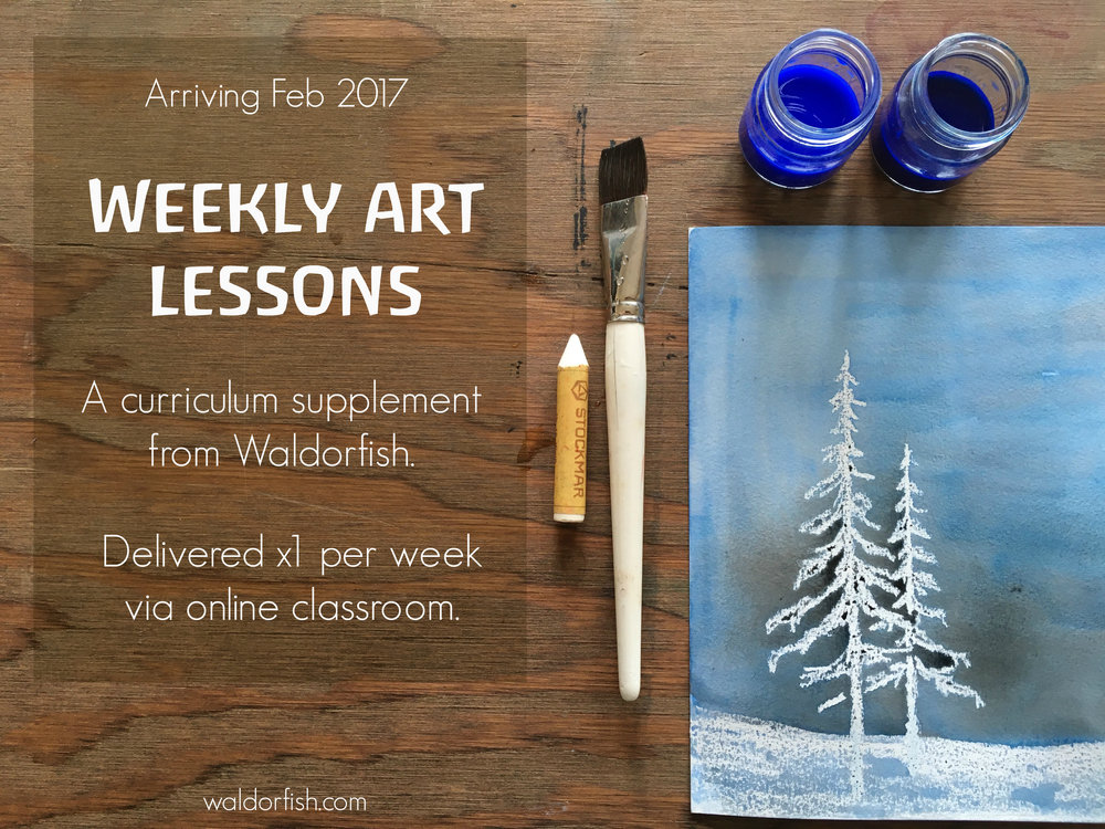 Waldorf art curriculum