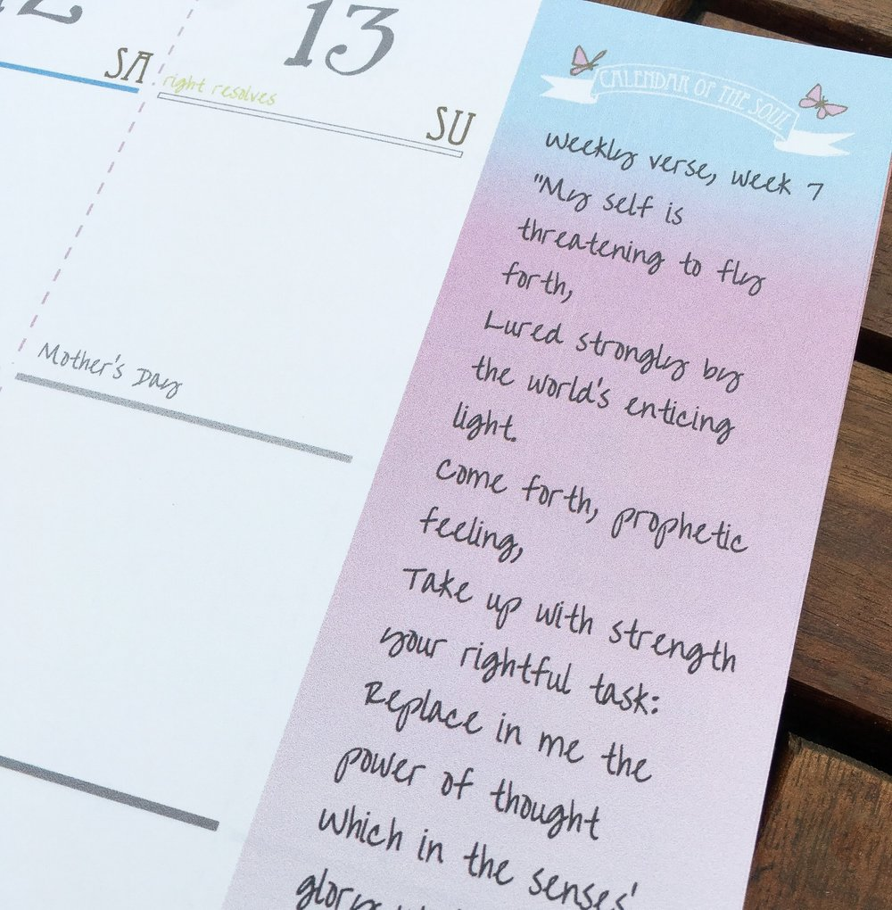 Calendar of the Soul • Homeschool Planner • Waldorfish.JPG