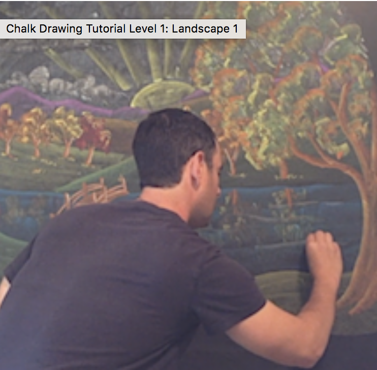 Chalk Drawing tutorial: Landscape K & G1    (click image to purchase)    Follow along with this wonderful video by Waldorf teacher Brian Wolfe as he takes you, step-by-step through the process of creating a chalk drawing for your Kindergarten (and older) students. This video focuses on the skills you will need to draw a landscape. These skills can then be used by you to create an endless number of new landscapes for your classroom in the future.      Price: $15.00