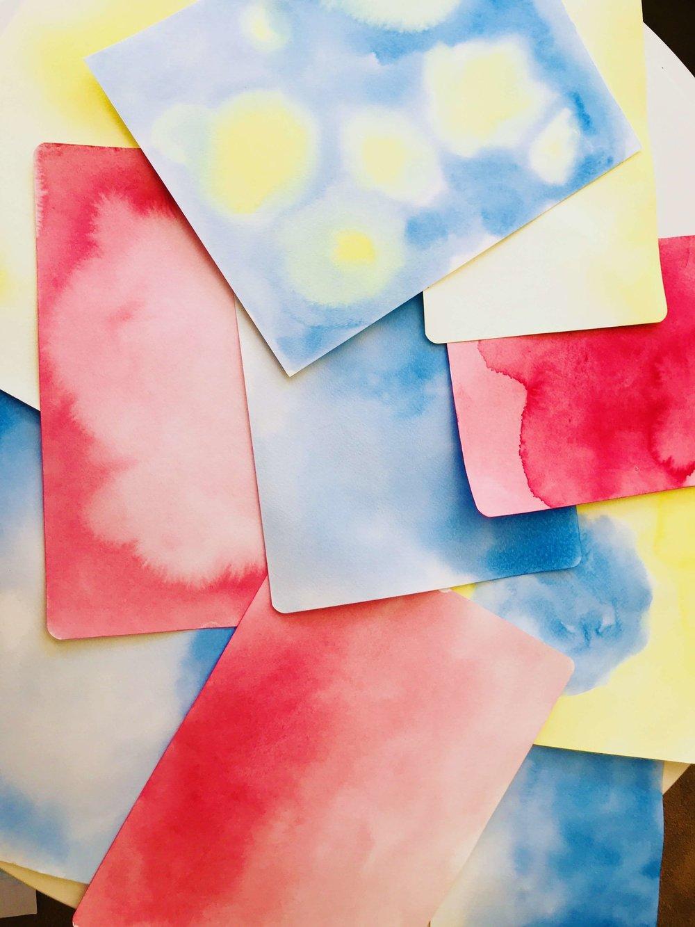 Waldorf G1 Painting Curriculum