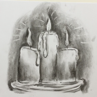 March - Week One - Charcoal candles