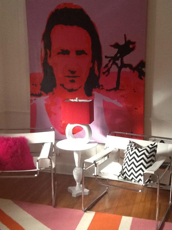 in the home of collector beth scherr. richmond, virginia 2013