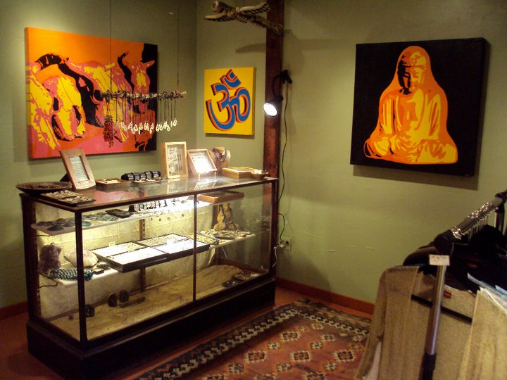 'a wander out yonder' gallery. madrid, new mexico. 2011.