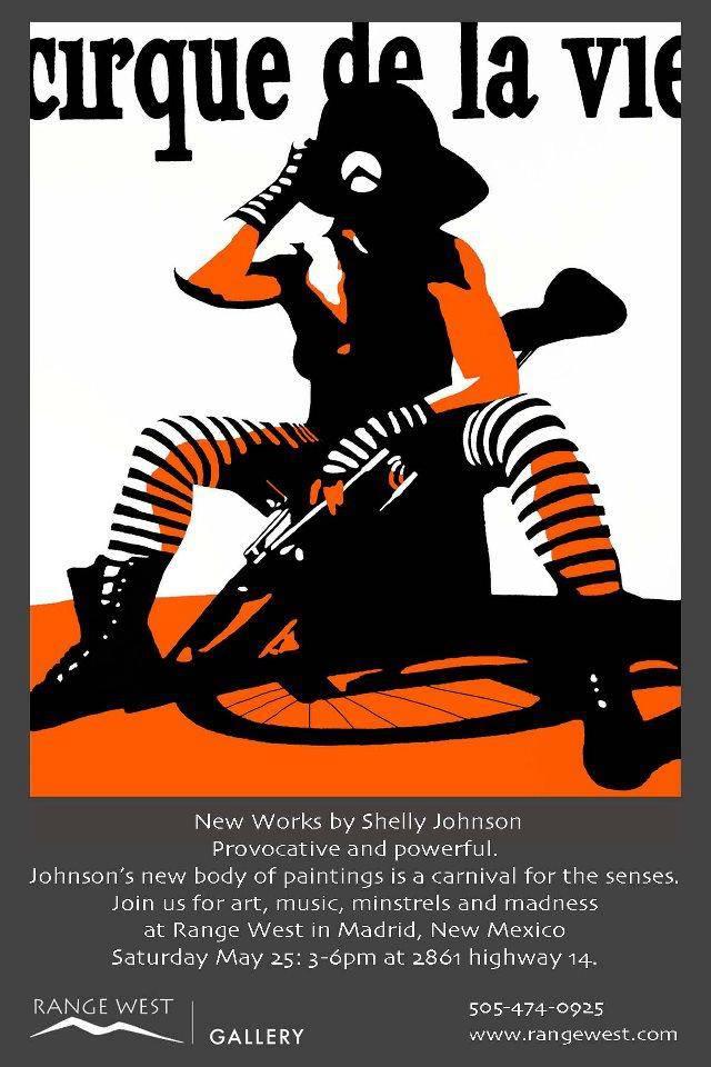 the following ten photos... 'cirque de la vie' at range west gallery in madrid, new mexico. 2013