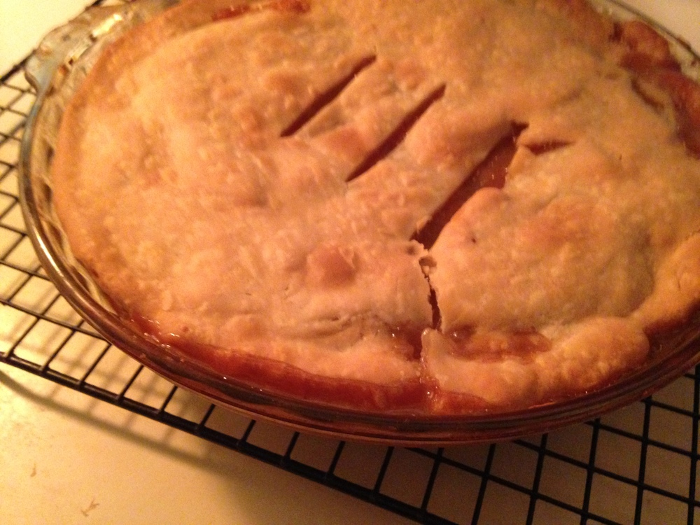Apple pie I can't take baking credit for, just eating credit!