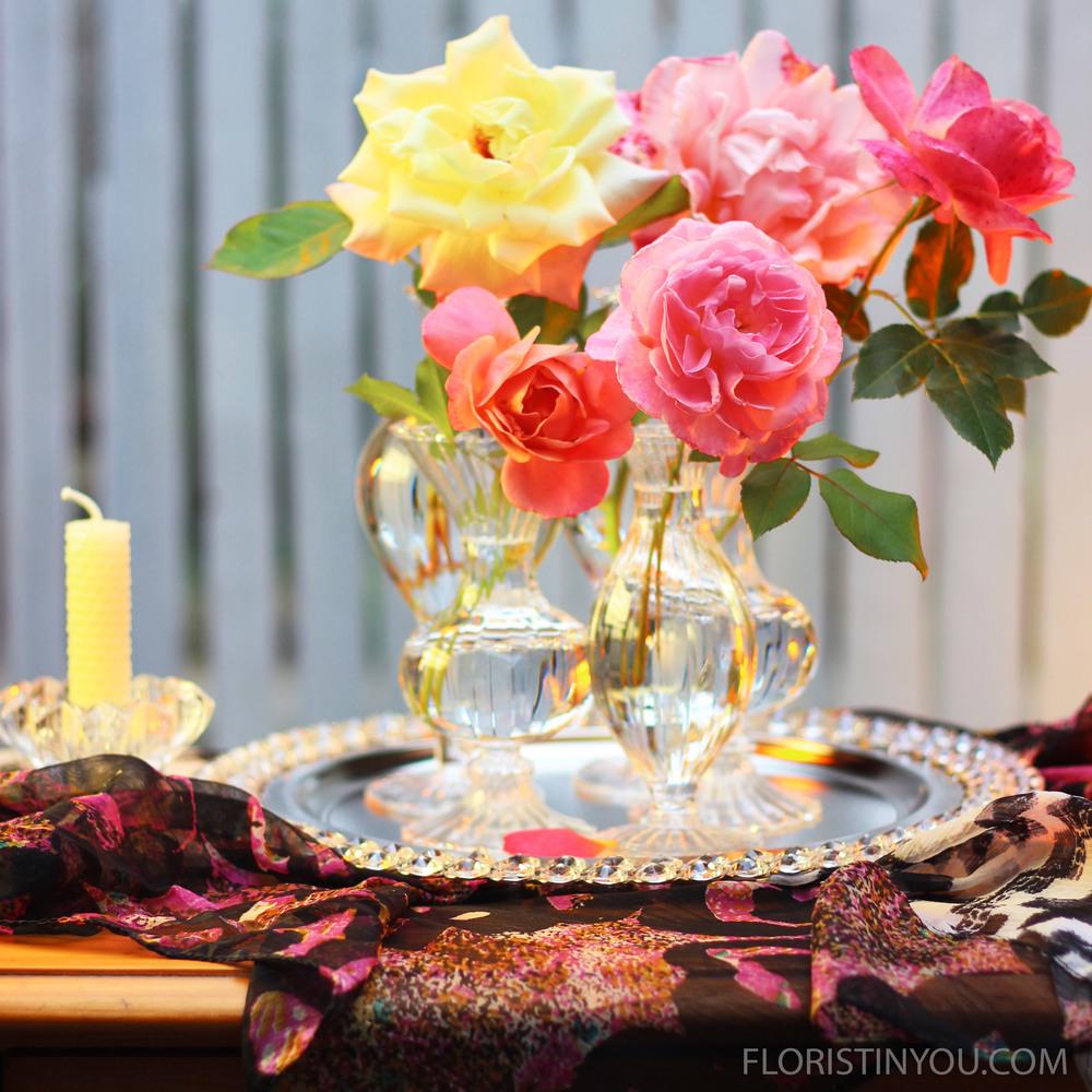 Beautiful Bud Vase Arrangement
