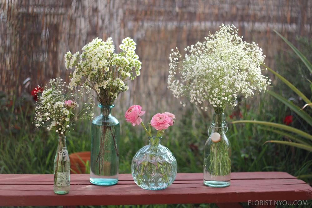 5 Beautiful ways to use Narrow Neck Vases