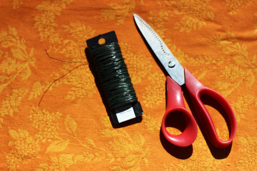 Wrap wire around head  3 times, then loosen 1/2 inch.