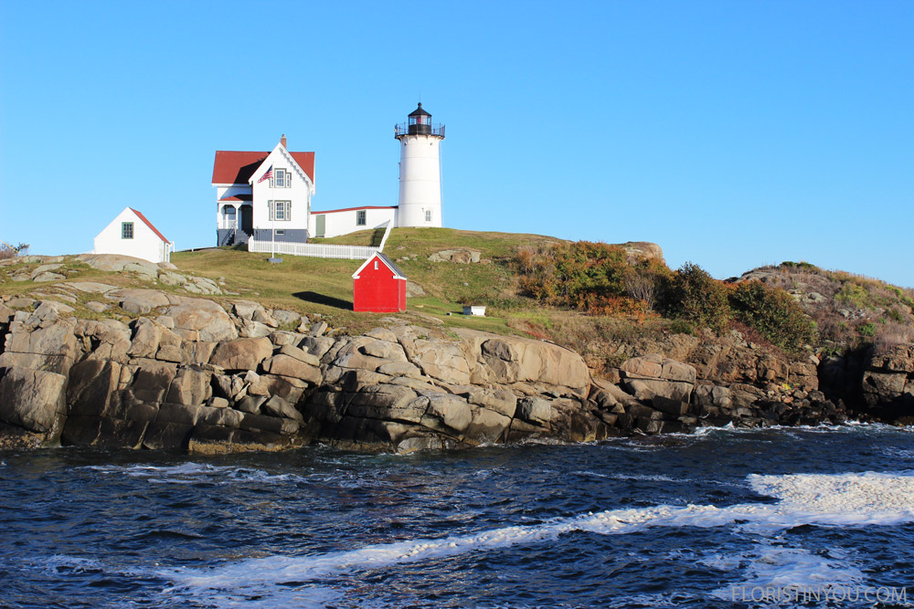Further south is the Nubble Lighthouse.