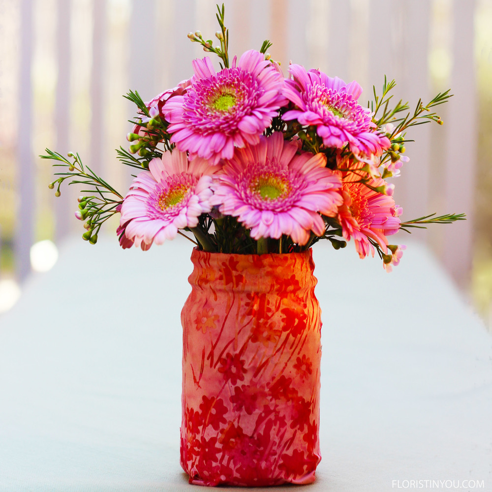 Gerber daisies and wax flowers floristinyou gerber daisies and wax flower mightylinksfo