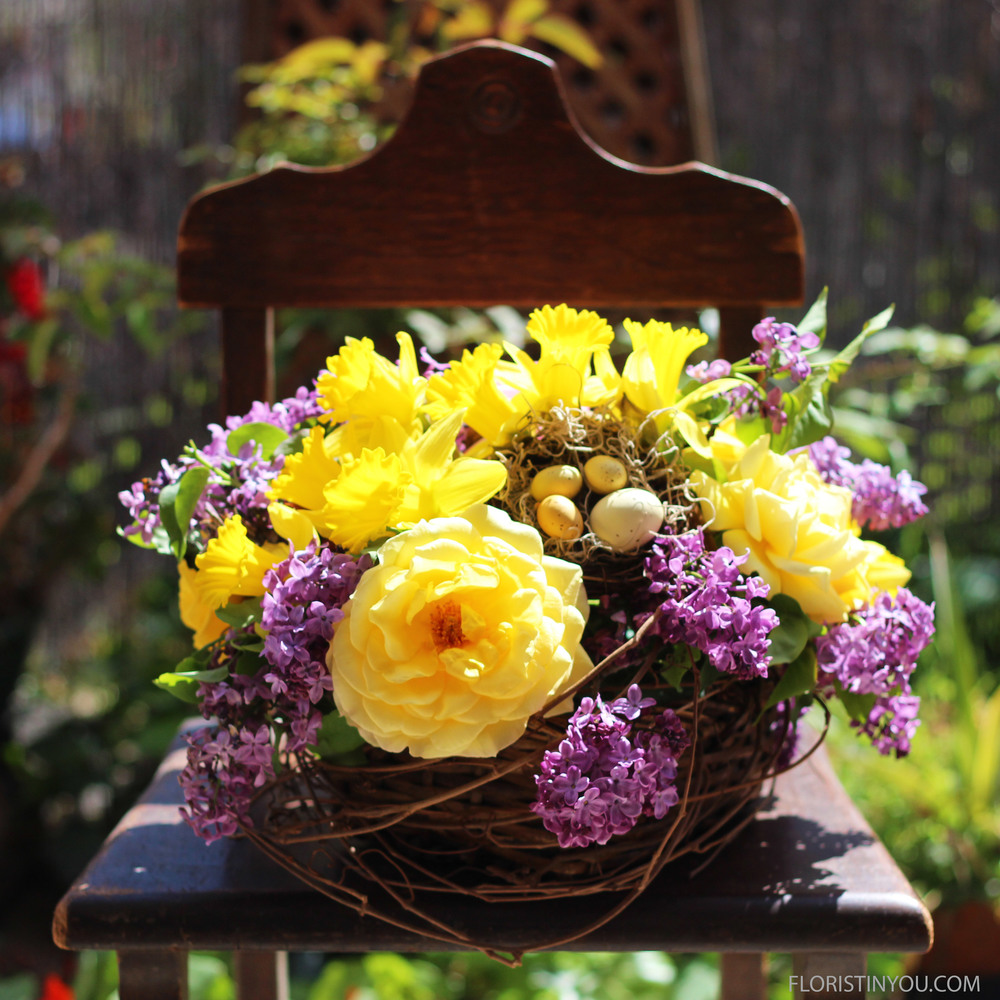Catch these:  Lilacs, Roses and Daffodils