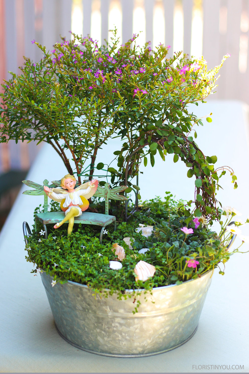 How to Make a Fairie Garden