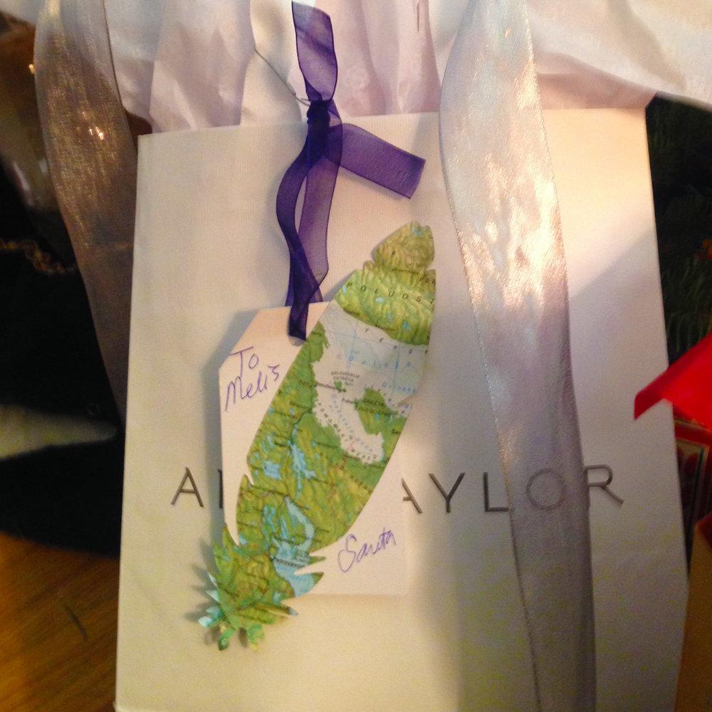 Make your handmade gift tags.