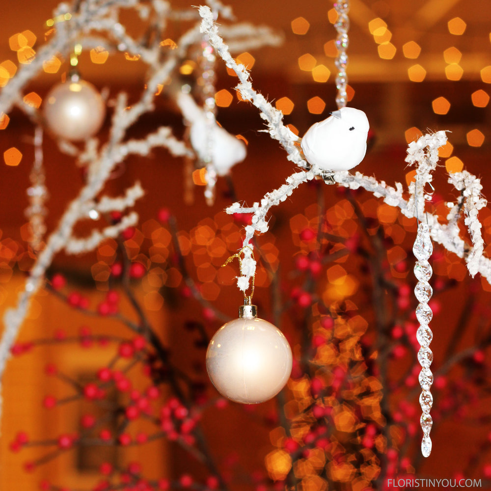 How to Make Snowy Branches and Icy Branches.