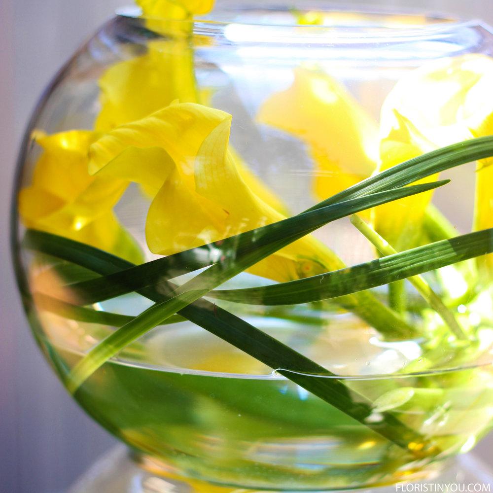 Add lilies.
