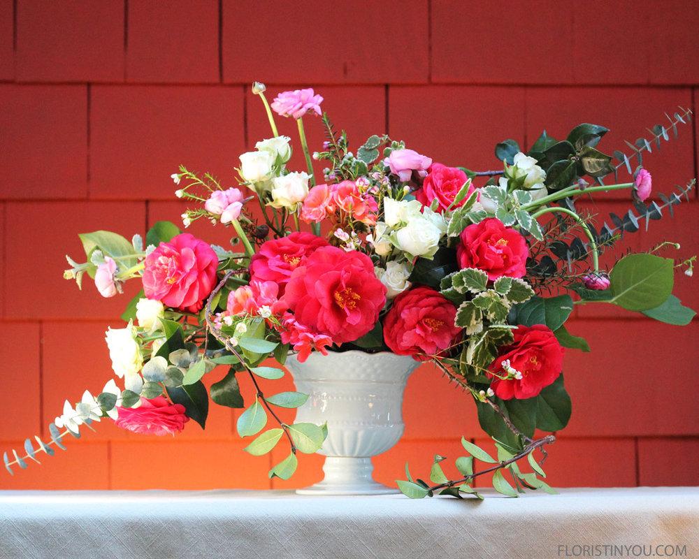Your garden arrangement is done. Enjoy!
