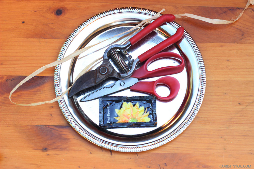These are the tools and materials you will use.