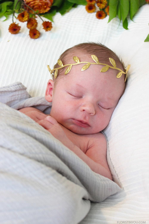 Baby's Leaf Crown