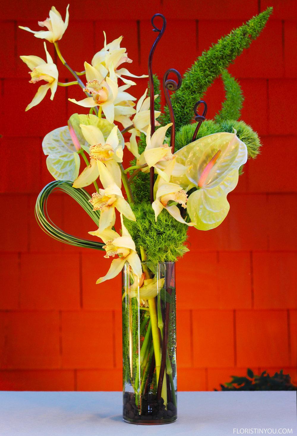 Small Orchid Arrangement