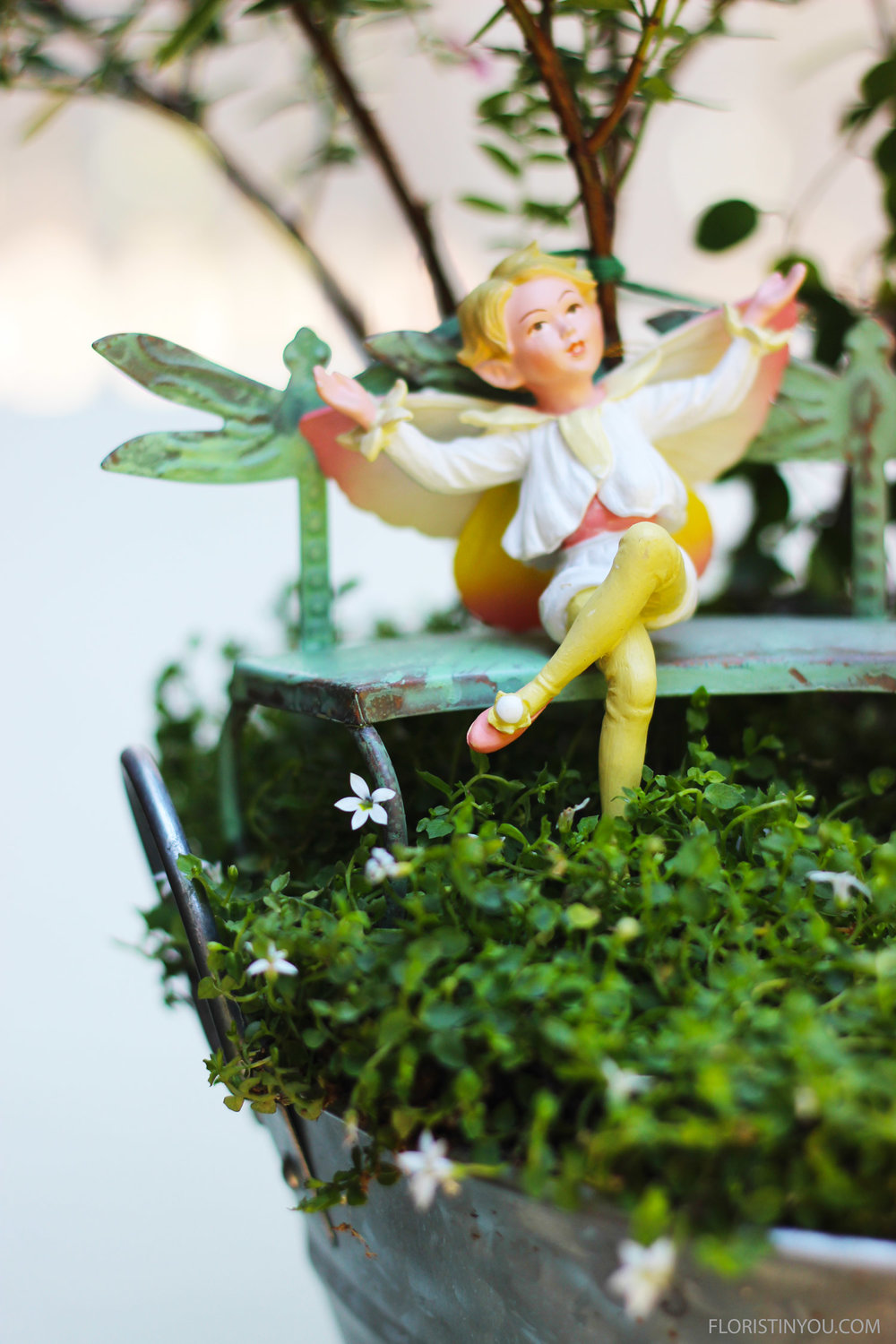 I love the shoes and costume of the Pear Blossom Fairie.