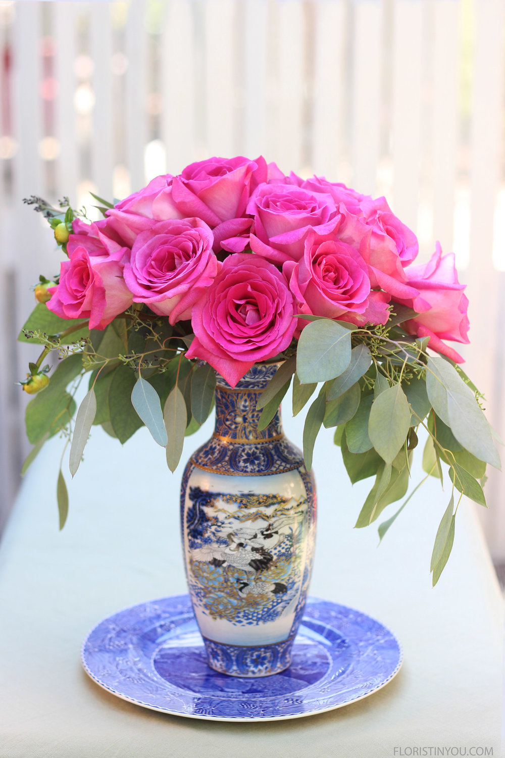 "Roses in a Blue & White Tall Vase                     Normal   0           false   false   false     EN-US   JA   X-NONE                                                                                                                                                                                                                                                                                                                                                                              /* Style Definitions */ table.MsoNormalTable 	{mso-style-name:""Table Normal""; 	mso-tstyle-rowband-size:0; 	mso-tstyle-colband-size:0; 	mso-style-noshow:yes; 	mso-style-priority:99; 	mso-style-parent:""""; 	mso-padding-alt:0in 5.4pt 0in 5.4pt; 	mso-para-margin:0in; 	mso-para-margin-bottom:.0001pt; 	mso-pagination:widow-orphan; 	font-size:12.0pt; 	font-family:Cambria; 	mso-ascii-font-family:Cambria; 	mso-ascii-theme-font:minor-latin; 	mso-hansi-font-family:Cambria; 	mso-hansi-theme-font:minor-latin;}"