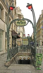 Paris Subway Entrance