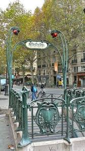 Paris Subway Railings
