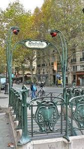 Paris Subway Railings