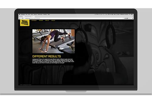 Underground Fitness Website Year:2011 Role:Development View Project