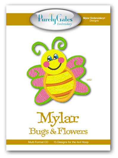 Mylar Bugs and Flowers