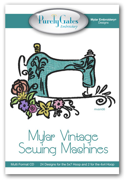 Mylar Vintage Sewing Machines