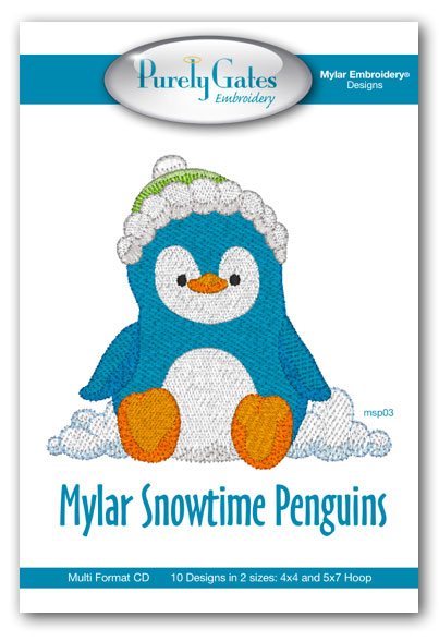Mylar Snowtime Penguins