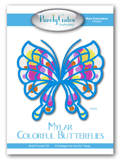 Mylar Colorful Butterflies