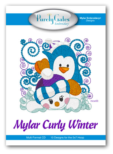 Mylar Curly Winter