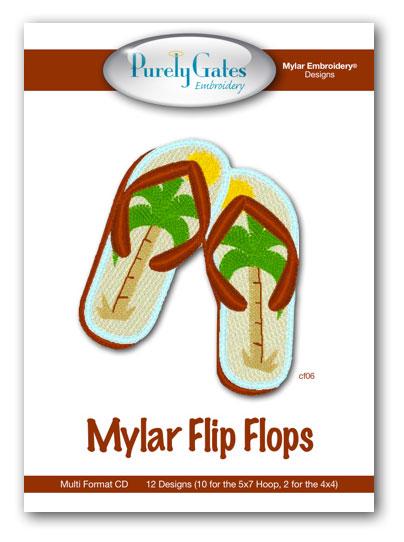 Mylar Flip Flops