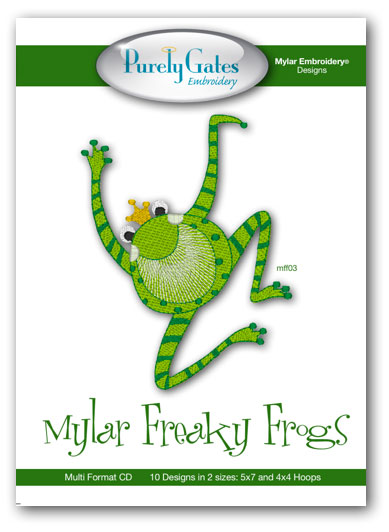 Mylar Freaky Frogs