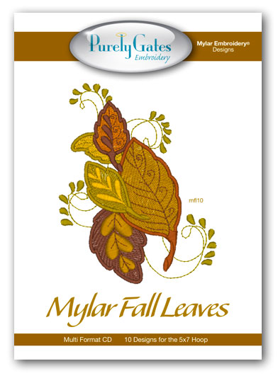 Mylar Fall Leaves